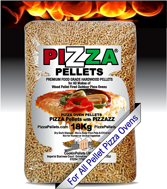 BULK 18Kg Pack PIZZA Pellets®